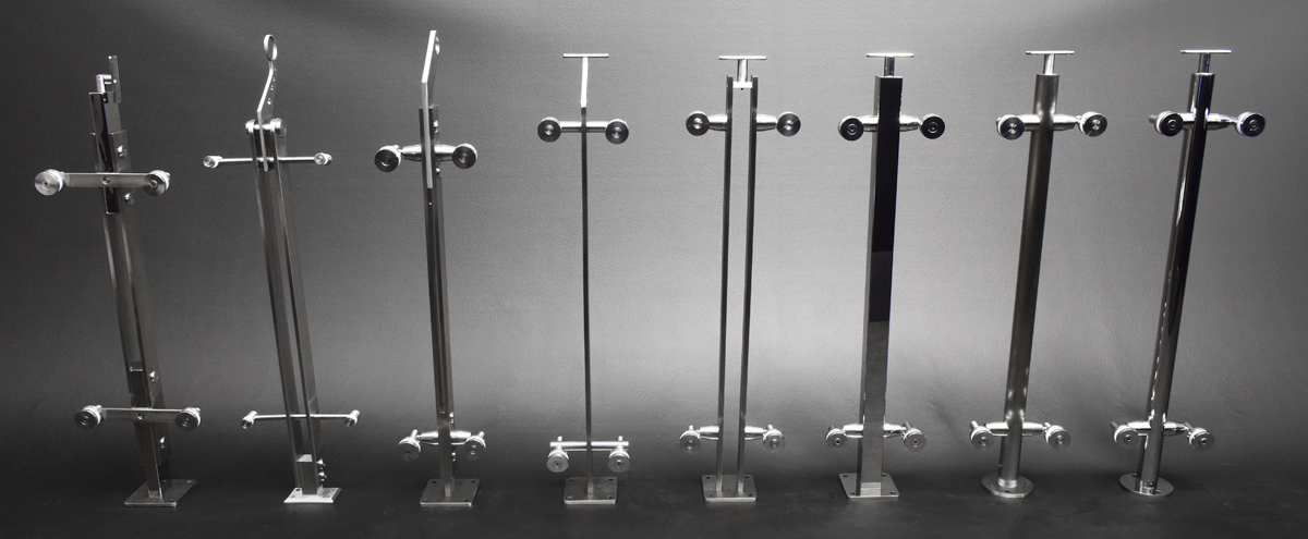 Glass Railing Sytems available in various designs